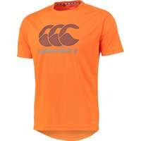 Canterbury VapoDri Poly Large Logo T-Shirt Orange