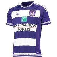 Anderlecht Home Shirt 2015/16 Purple