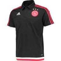 Ajax Training Polo Black