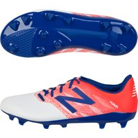 New Balance Furon Dispatch Firm Ground Football Boots - Kids White