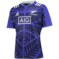 All Blacks Rugby Training Jersey Purple