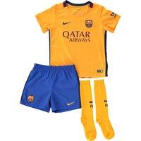 Barcelona Away Kit 2015/16 - Little Boys Gold