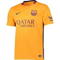 Barcelona Away Shirt 2015/16 Gold