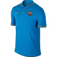 Barcelona League Authentic Polo Lt Blue