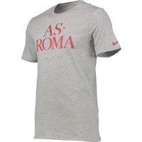 AS Roma Core Type T-Shirt Grey