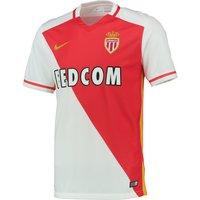 AS Monaco Home Shirt 2015/16 White
