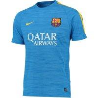 Barcelona Dri-Fit Knit Flash Training Top Lt Blue