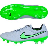 Nike Tiempo Legend V Firm Ground Football Boots Lt Grey