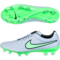 Nike Tiempo Legacy Firm Ground Football Boots Lt Grey