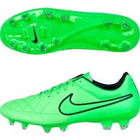 Nike Tiempo Legacy Firm Ground Football Boots Lt Green