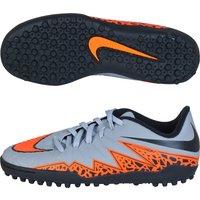 Nike Hypervenom Phelon II Astroturf Trainers - Kids Lt Grey