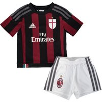Ac Milan Home Mini Kit 2015/16 Black