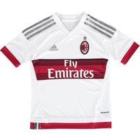 Ac Milan Away Shirt 2015/16 - Kids White