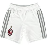 Ac Milan Away Shorts 2015/16 - Kids White