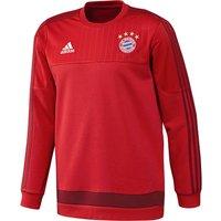 Bayern Munich Training Sweat Top Red