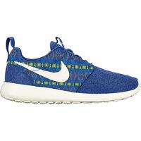 Nike Roshe One Print Trainers Royal Blue