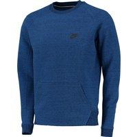 Nike Tech Fleece-1mm Crew Sweater Royal Blue