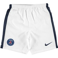 Paris Saint-Germain Away Shorts 2015/16 - Kids White