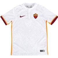 AS Roma Away Shirt 2015/16 - Kids White