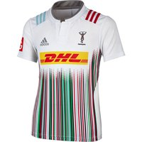 Harlequins Away Short Sleeve Shirt 2015/16 - Kids White