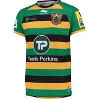 Northampton Saints Replica Home Shirt Short Sleeve 2015/16 Green