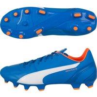 Puma Evospeed 3.4 Leather Firm Ground Football Boots Royal Blue