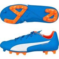 Puma evoSPEED 5.4 Firm Ground Football Boots - Kids Royal Blue