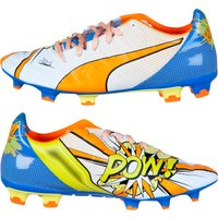 Puma evoPOWER 2.2 Graphic POP Firm Ground Football Boots White
