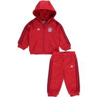 Bayern Munich 3 Stripe Baby Jog Suit Red