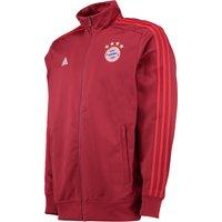 Bayern Munich 3 Stripe Track Jacket Red