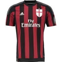 Ac Milan Uefa Champions League Home Shirt 2015/16 Black