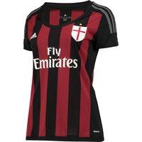 Ac Milan Home Shirt 2015/16 - Womens Black
