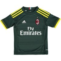 Ac Milan Third Shirt 2015/16 - Kids Green