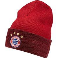 Bayern Munich 3 Stripe Woolie Hat Red