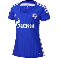 Schalke 04 Home Shirt 2015/16 - Womens Blue