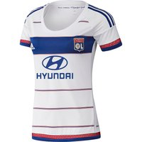 Olympique Lyon Home Shirt 2015/16 - Womens White