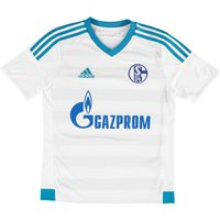 Schalke 04 Away Shirt 2015/16 - Kids White