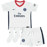 Paris Saint-Germain Away Kit 2015/16 - Infants White