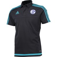 Schalke 04 Training Polo Grey