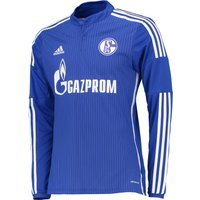 Schalke 04 Home Shirt 2015/16 - Long Sleeve Blue