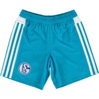 Schalke 04 Away Shorts 2015/16 - Kids Blue