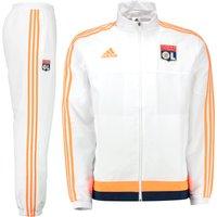 Olympique Lyon Training Presentation Suit White