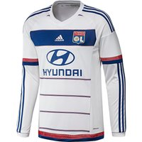 Olympique Lyon Home Shirt 2015/16 - Long Sleeve White