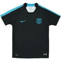 Barcelona Flash Pre Match Top - Kids Black