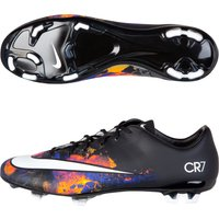 Nike Mercurial Veloce II CR7 Firm Ground Football Boots Black