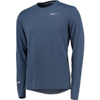 Nike Dri-Fit Contour T-Shirt - Long Sleeve Blue