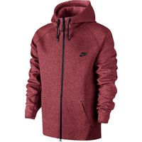 Nike Tech Fleece Aw77 Hoodie Red