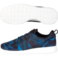 Nike Roshe One Print Trainers Blue