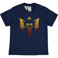 adidas Messi Winners T-Shirt - Kids Navy