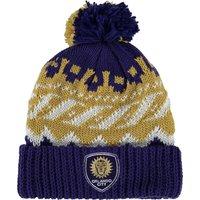 Orlando City SC Cuffed Knit Pom Hat Royal Blue